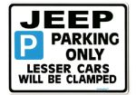 Jeep Large Metal Sign for wrangler grand cherekee Gift